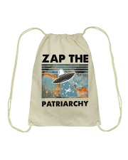Zap The Patriarchy Drawstring Bag thumbnail