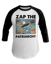 Zap The Patriarchy Baseball Tee thumbnail