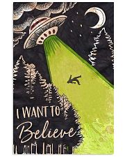 I Want To Believe 11x17 Poster front