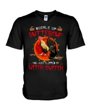 Buckle Up Buttercup V-Neck T-Shirt thumbnail