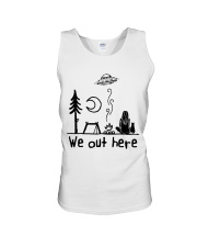 We Out Here Unisex Tank thumbnail