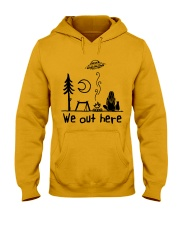 We Out Here Hooded Sweatshirt front
