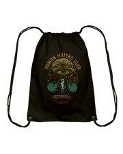 Human Haters Club Drawstring Bag thumbnail