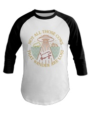Not All Those Cows Are Lost Baseball Tee thumbnail