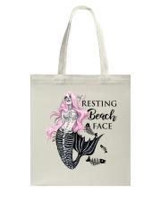 Resting Beach Face Tote Bag thumbnail