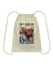 I Am The Liquor Drawstring Bag thumbnail