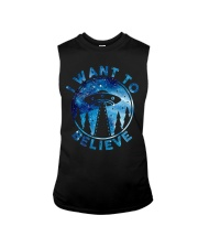 I Want To Believe Sleeveless Tee tile