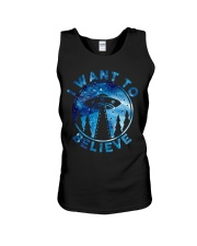 I Want To Believe Unisex Tank thumbnail