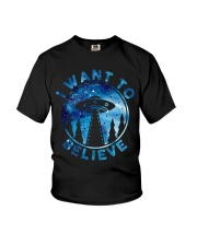 I Want To Believe Youth T-Shirt thumbnail