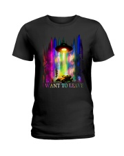 I Want To Leave Ladies T-Shirt thumbnail