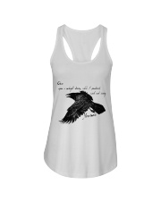 Once Upon A Midnight Ladies Flowy Tank thumbnail