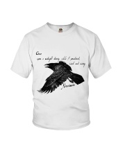 Once Upon A Midnight Youth T-Shirt thumbnail