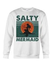 Salty Mermaid Crewneck Sweatshirt thumbnail
