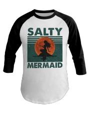 Salty Mermaid Baseball Tee thumbnail