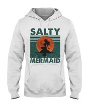 Salty Mermaid Hooded Sweatshirt front