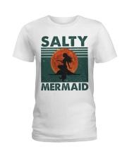 Salty Mermaid Ladies T-Shirt thumbnail