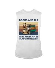 Books And Tea A Matcha Sleeveless Tee thumbnail