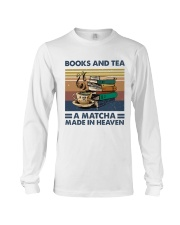 Books And Tea A Matcha Long Sleeve Tee thumbnail