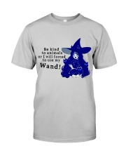 Be Kind To Animals Classic T-Shirt front