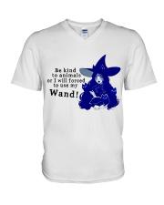 Be Kind To Animals V-Neck T-Shirt thumbnail