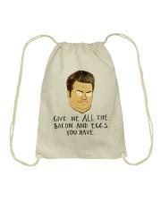 Give Me All Bacon Drawstring Bag thumbnail
