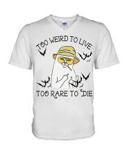 Too Rare To Die V-Neck T-Shirt thumbnail