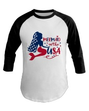 Mermaid USA Baseball Tee thumbnail