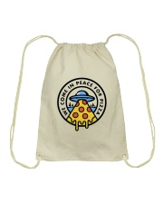 We Come In Peace Drawstring Bag thumbnail