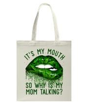 Its My Mouth Tote Bag thumbnail
