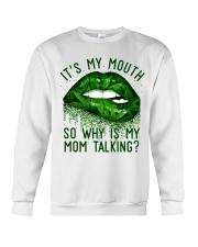 Its My Mouth Crewneck Sweatshirt thumbnail