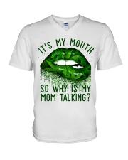 Its My Mouth V-Neck T-Shirt thumbnail