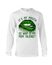 Its My Mouth Long Sleeve Tee thumbnail