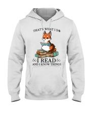 What I Do I Read Hooded Sweatshirt thumbnail