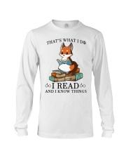 What I Do I Read Long Sleeve Tee thumbnail