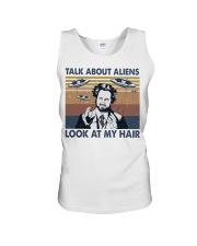 Talk About Aliens Unisex Tank thumbnail
