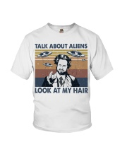 Talk About Aliens Youth T-Shirt thumbnail