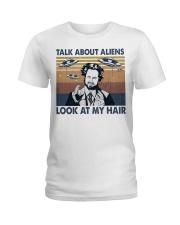 Talk About Aliens Ladies T-Shirt thumbnail