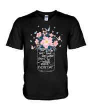 Im Not A Widow V-Neck T-Shirt thumbnail