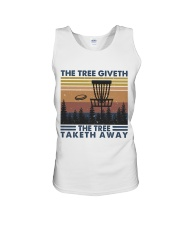 The Tree Giveth Unisex Tank thumbnail