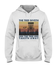 The Tree Giveth Hooded Sweatshirt thumbnail