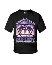 Assuming Old Lady Youth T-Shirt thumbnail