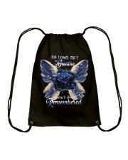 You Will Be Always Remembered Drawstring Bag thumbnail