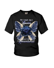 You Will Be Always Remembered Youth T-Shirt thumbnail