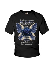 He Will Cover You With His Feathers Youth T-Shirt thumbnail