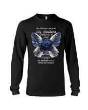He Will Cover You With His Feathers Long Sleeve Tee thumbnail