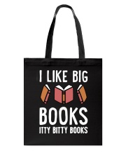 I Like Books Tote Bag thumbnail