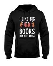 I Like Books Hooded Sweatshirt thumbnail