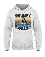 Grumpy Gills Hooded Sweatshirt front