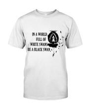 Be A Black Swan Classic T-Shirt tile