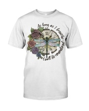 As Long As I Breath Classic T-Shirt front